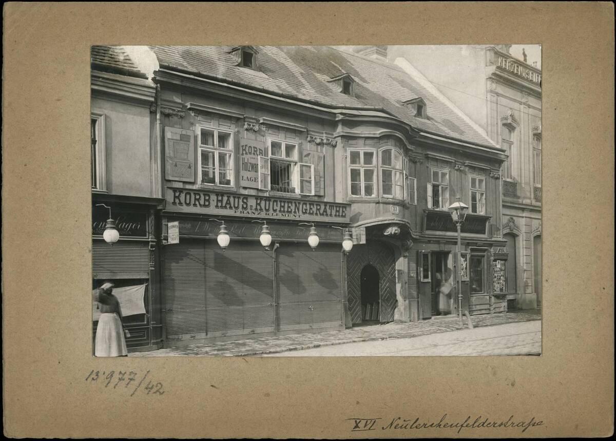 Fotografie des Hauses Neulerchenfelder Straße 33 (vom Bearbeiter vergebener Titel)
