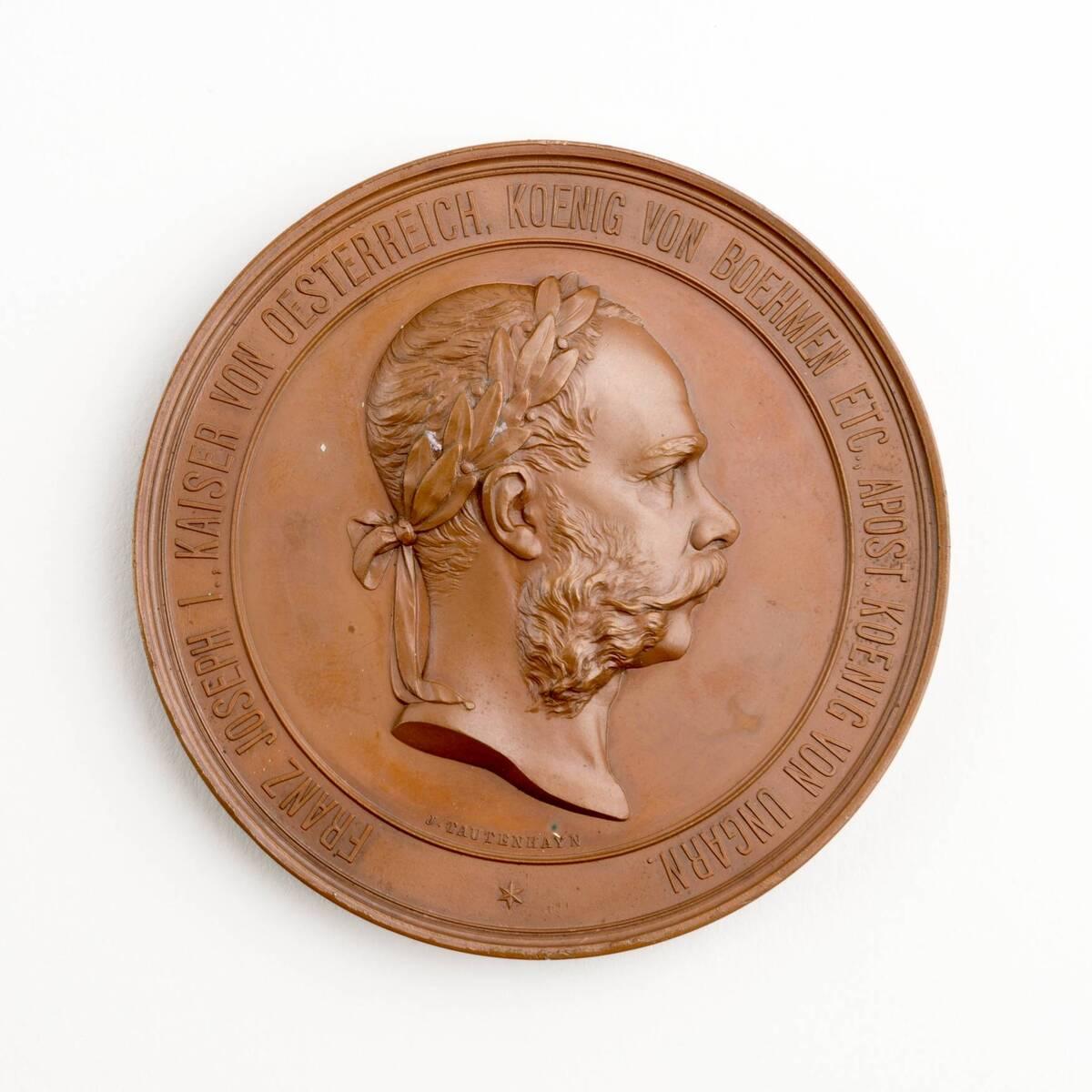 Medaille auf die Weltausstellung 1873 von Anonym