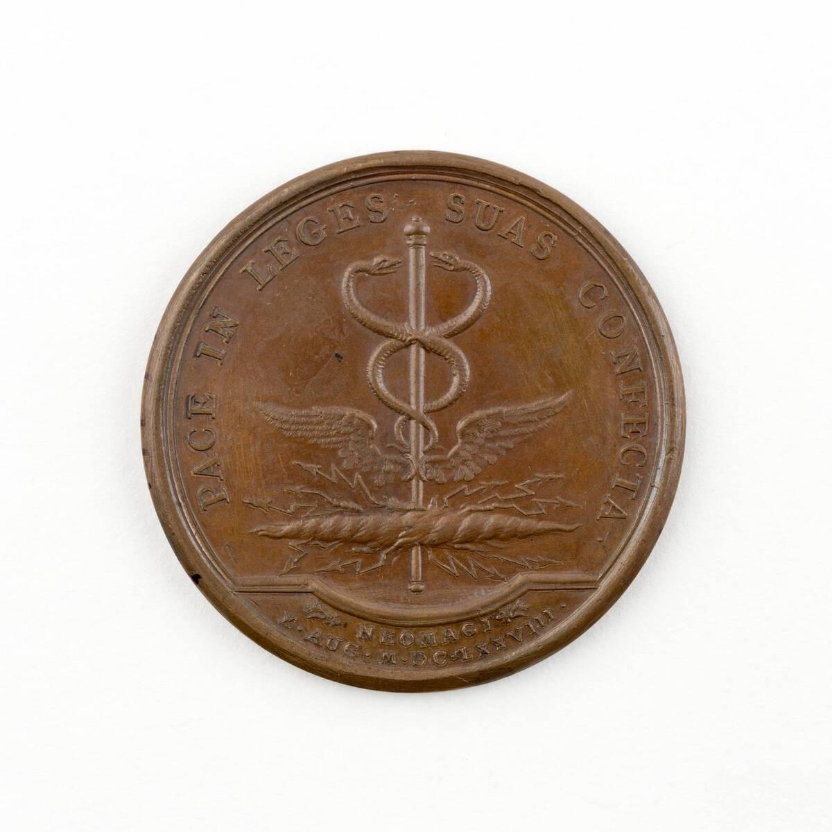 Medaille auf König Ludwig XIV. von Frankreich von Anonym