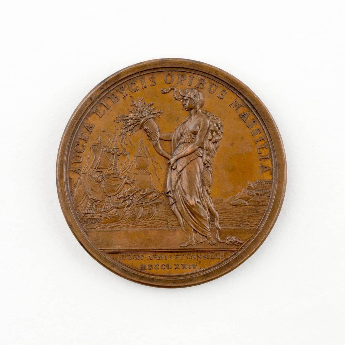 Medaille auf den Tod König Ludwig XV. von Frankreich von Anonym