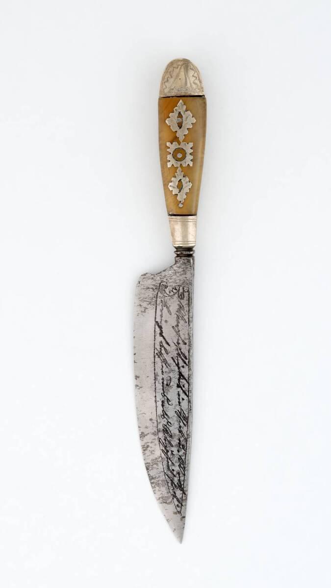 Messer von Anonym