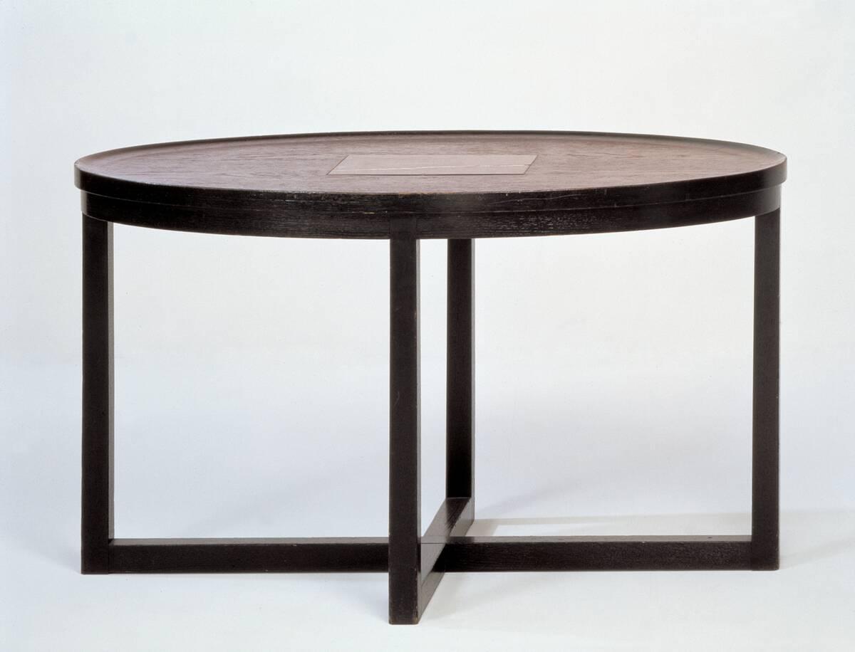 Tisch aus einer Wohnungseinrichtung für Dr. Hermann Wittgenstein von Hoffmann, Josef