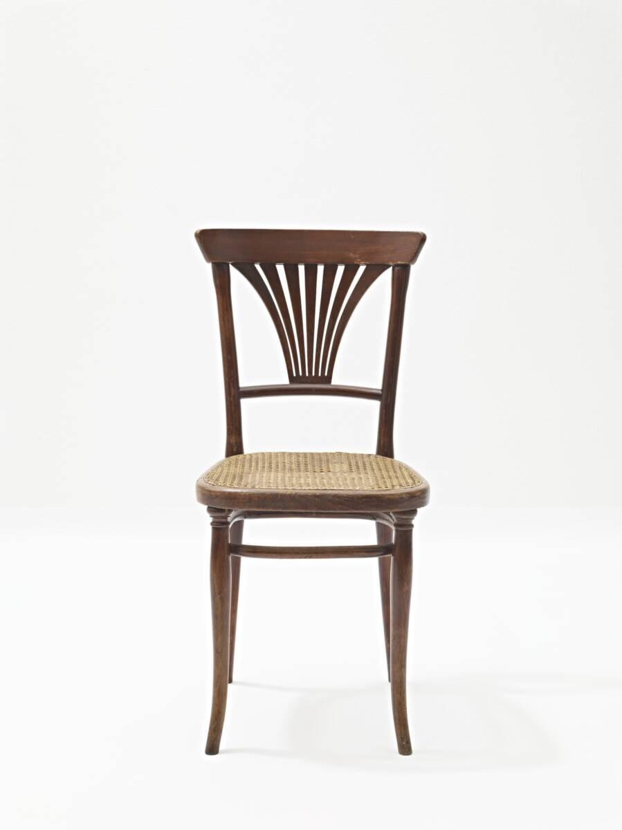 Sessel Modell Nr. 221 (Modellnummer) von Gebrüder Thonet