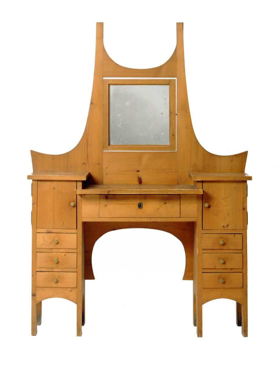 Toilettetisch aus einer Einrichtung für das Atelierhaus Ernst Stöhrs in St. Johann am Wocheinersee von Hoffmann, Josef