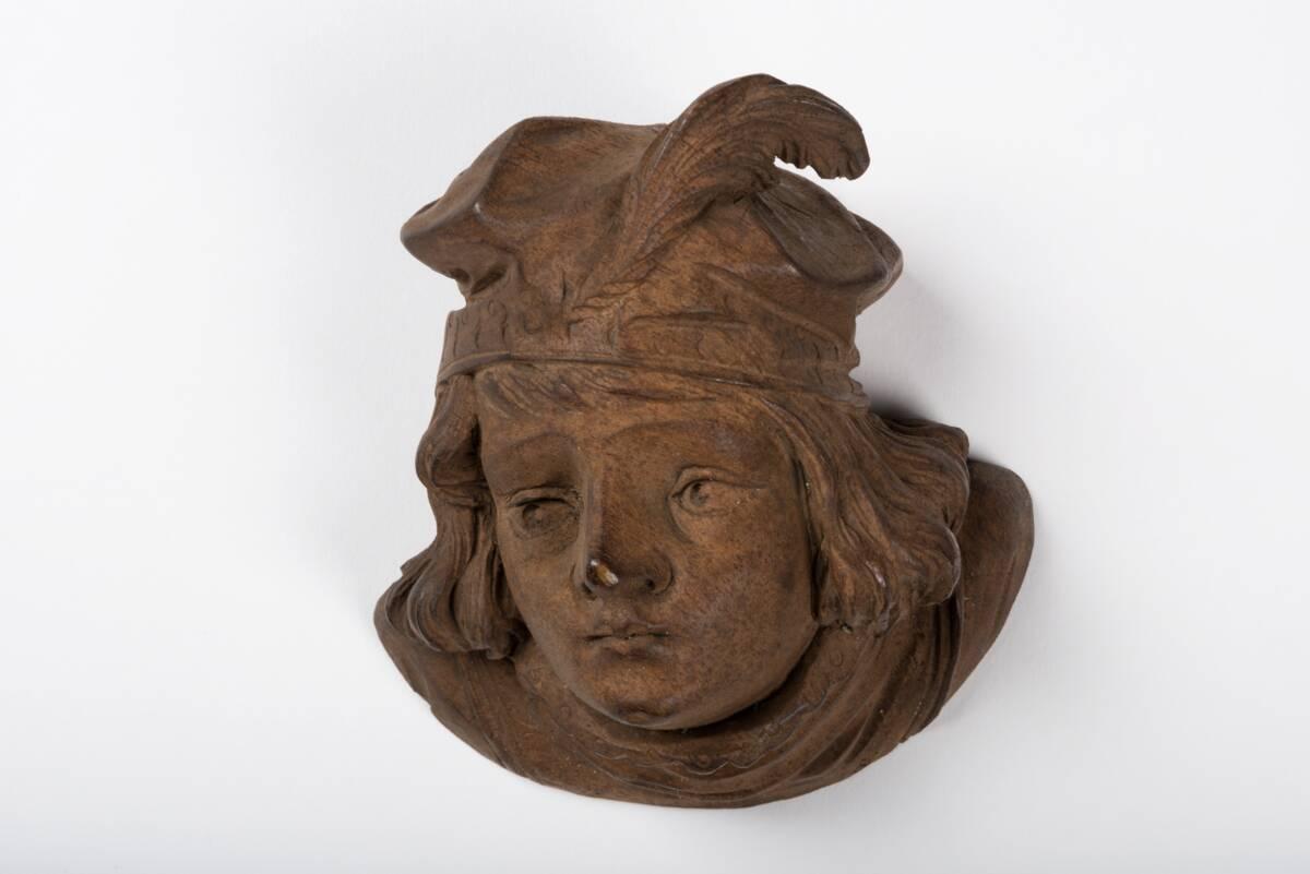 Männlicher Kopf von Aimone, Vittorio