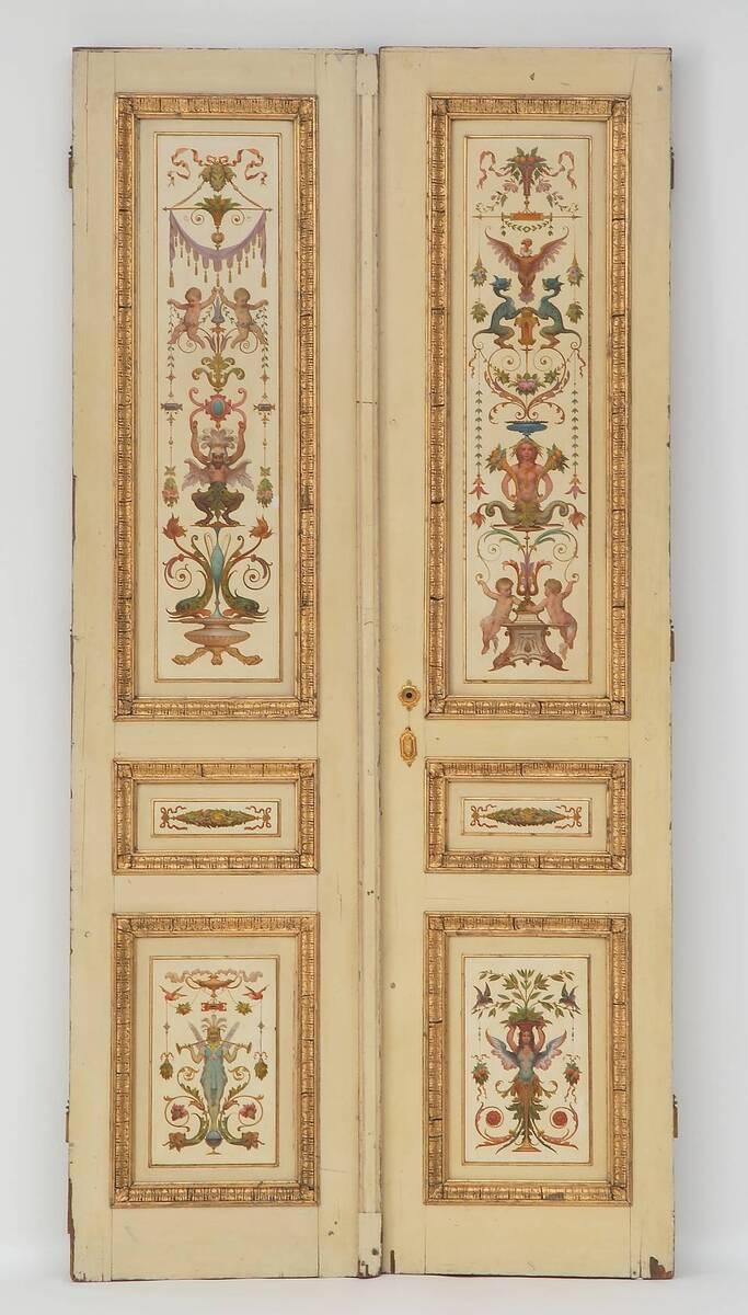 Flügeltür aus dem Kaiserpavillon auf der Wiener Weltausstellung 1873 von Storck, Josef von