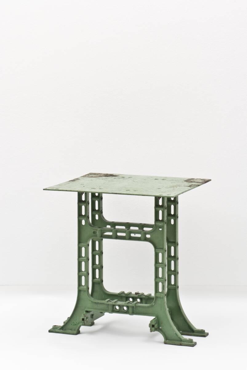 Maschinentisch aus der Glanzstofffabrik, St. Pölten von Anonym