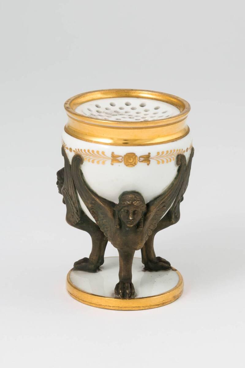 Streusandbehälter von Kaiserliche Porzellanmanufaktur Wien