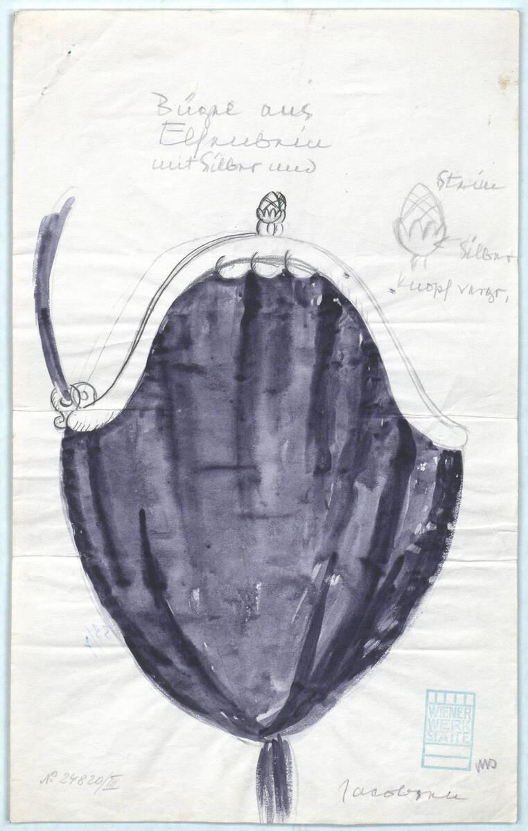 """""""Tasche"""" (Originaltitel) von Wiener Werkstätte"""
