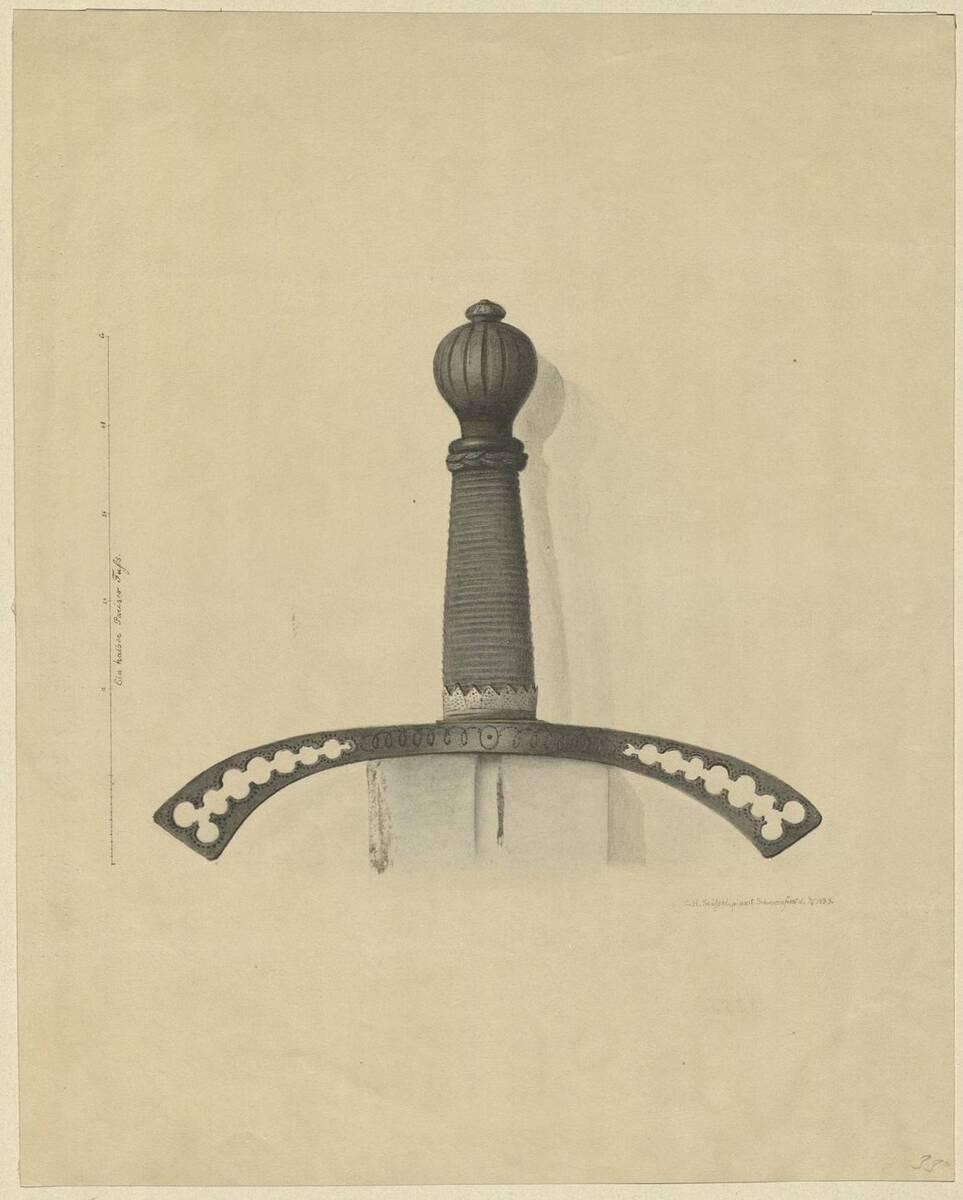 Kopie eines Schwertgriffs von C.H. Stössel (vom Bearbeiter vergebener Titel) von Stössel, C. H.
