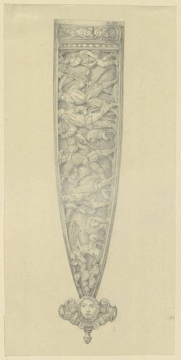 Kopie einer Dolchscheide aus dem 16. Jahrhundert (vom Bearbeiter vergebener Titel) von Anonym