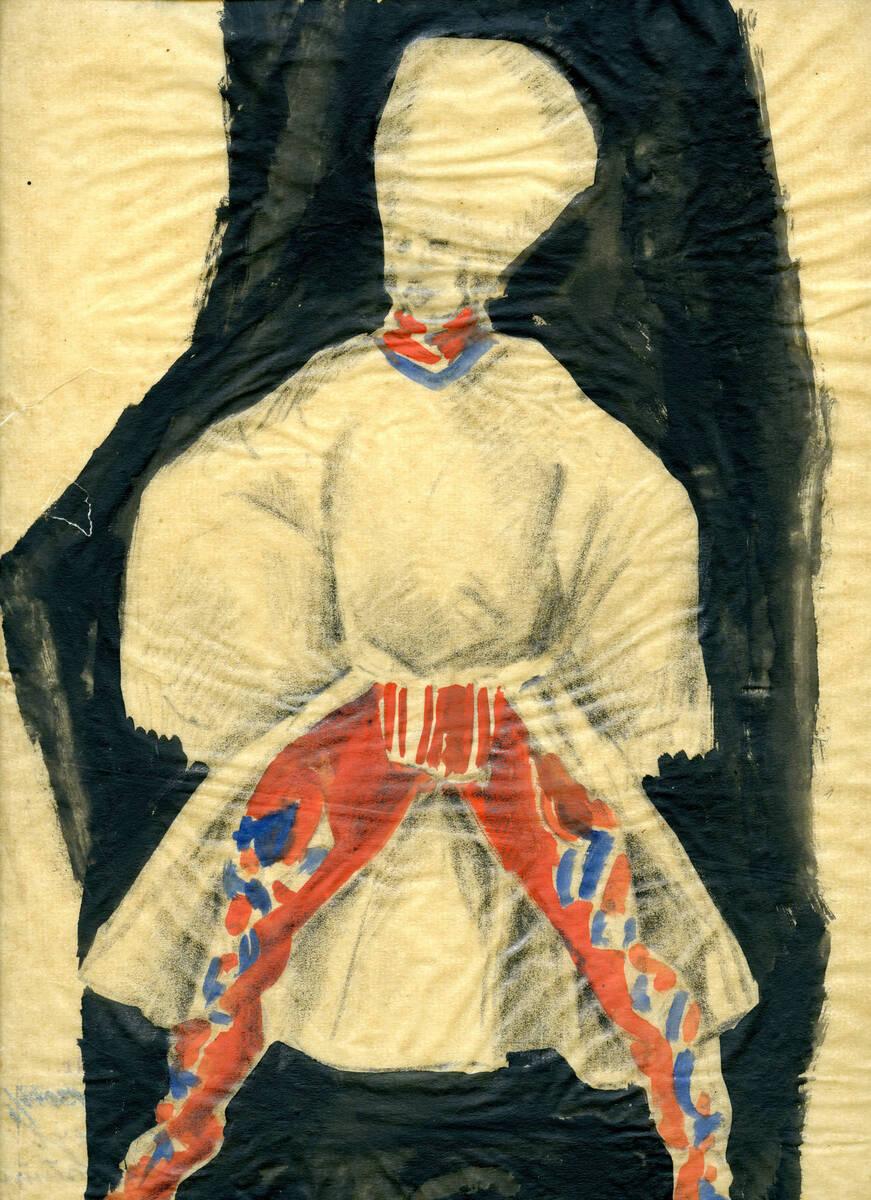 Tanz- oder Theaterkostüm von Snischek, Maximilian