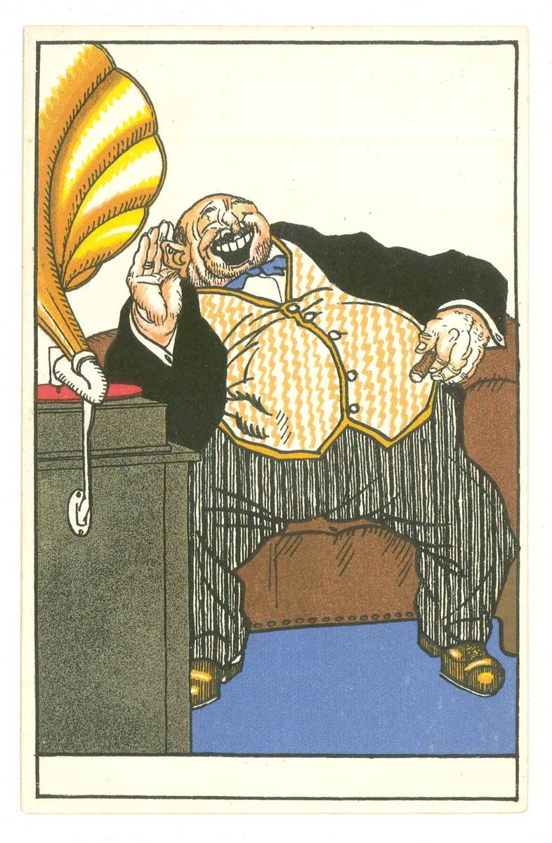 Postkarte Nr. 506 von Wiener Werkstätte