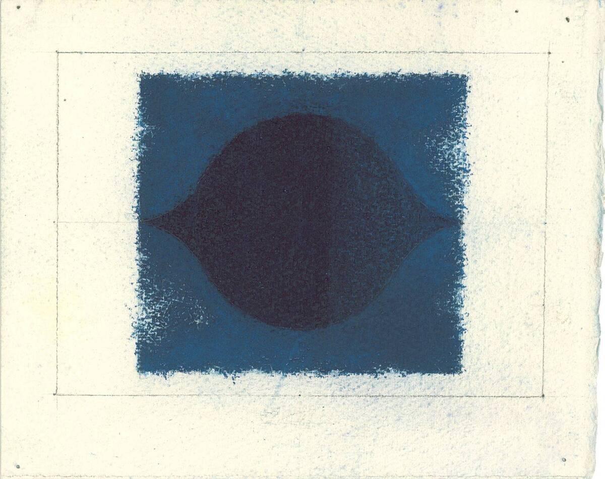 Indigo hell/dunkel No. 231A, kleine Ausführung von No. 231 (Originaltitel) von Binder, Joseph