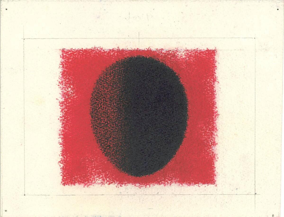 Carmine Red, Black No. 230A, kleine Ausführung von No. 230 (Originaltitel) von Binder, Joseph