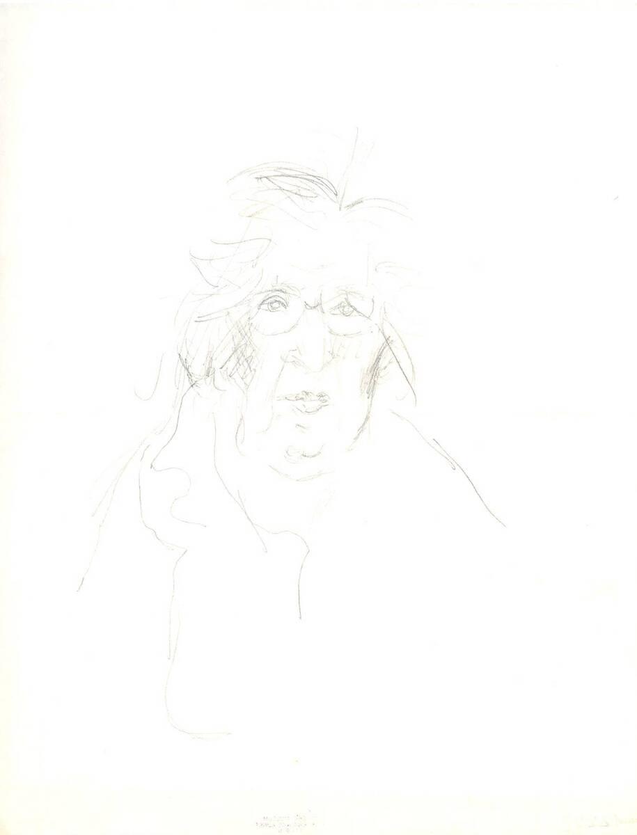 Portrait (vom Bearbeiter vergebener Titel) von Anonym