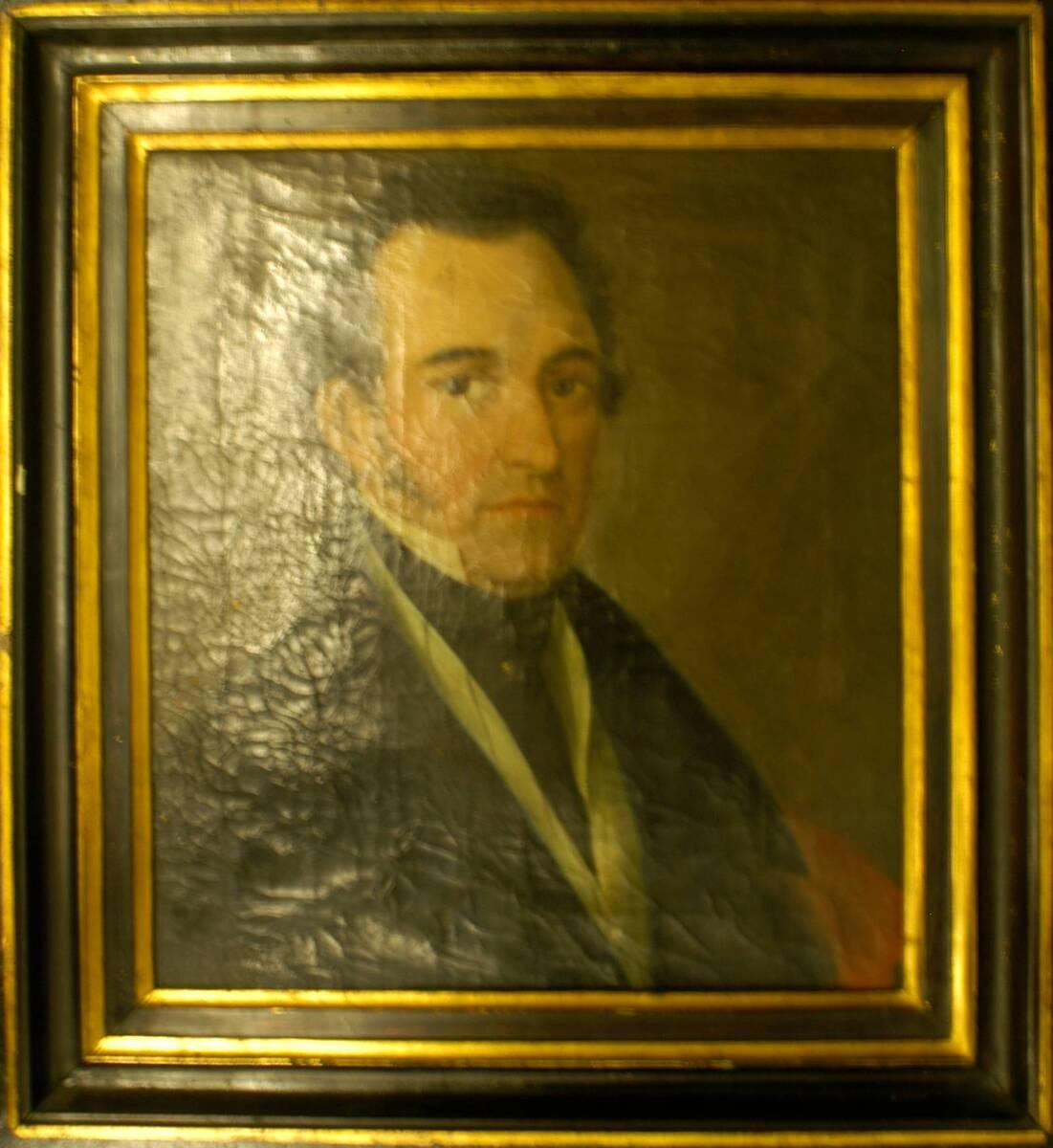 Portrait eines unbekannten Mannes (vom Bearbeiter vergebener Titel) von Anonym