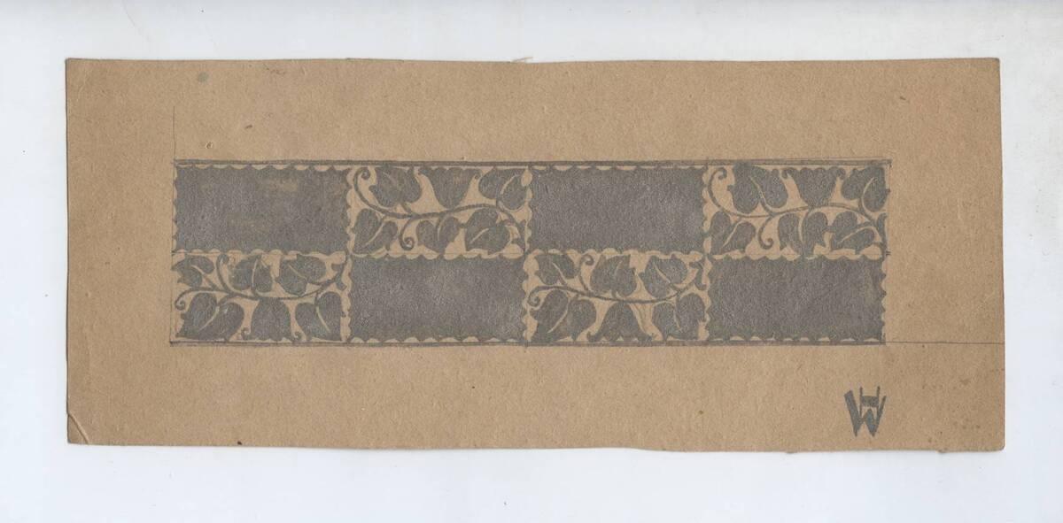 Entwurf eines Armbands (vom Bearbeiter vergebener Titel) von Dietrich, Oscar