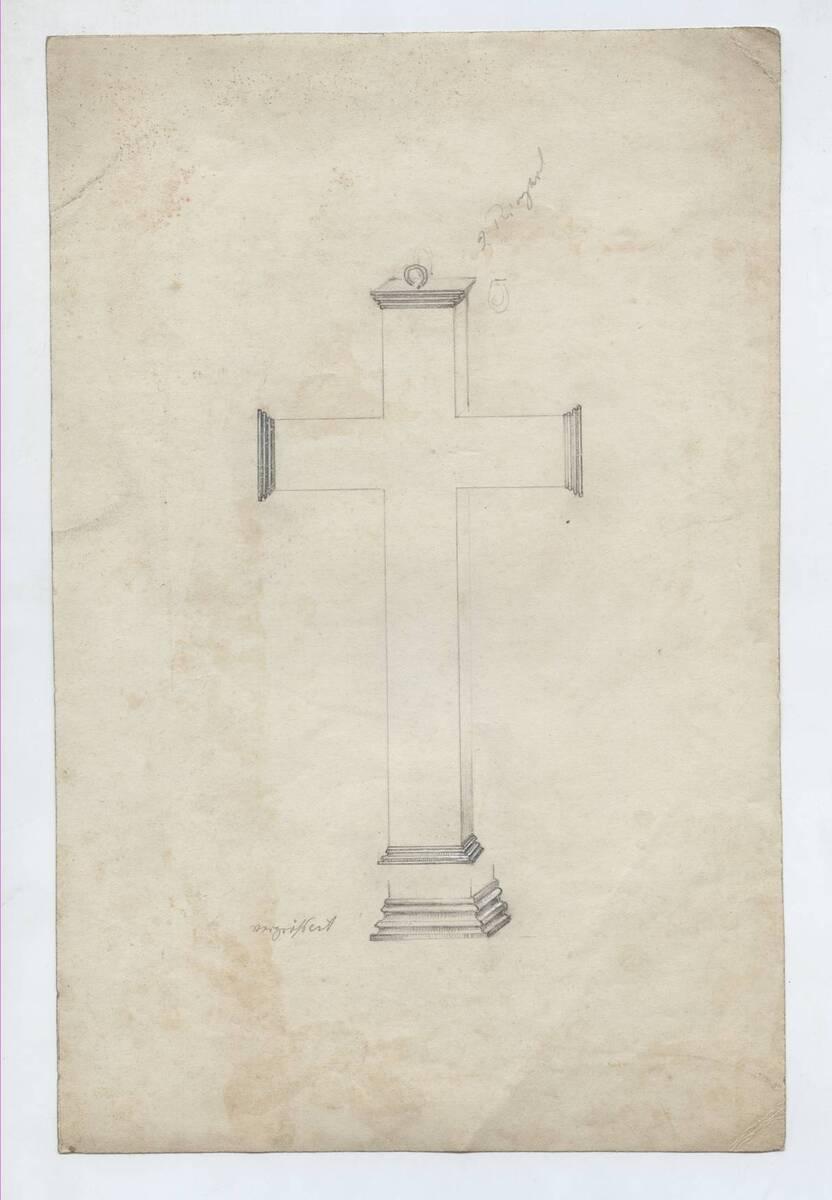 Entwurf eines Anhängers (vom Bearbeiter vergebener Titel) von Dietrich, Oscar