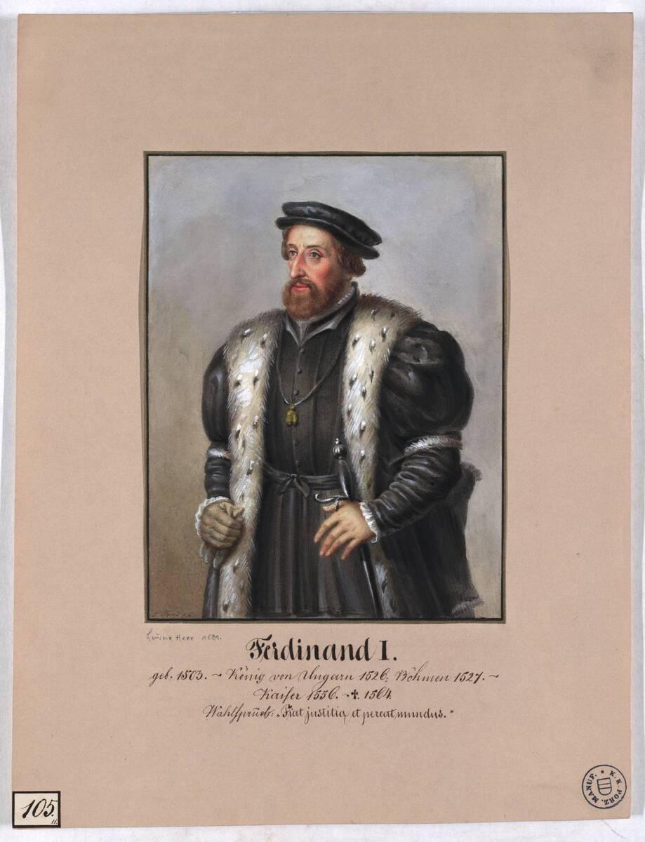 Ferdinand I. (Originaltitel) von Herr, Laurenz / Lorenz