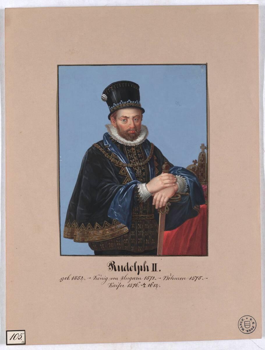 Rudolph II. (Originaltitel) von Herr, Laurenz / Lorenz