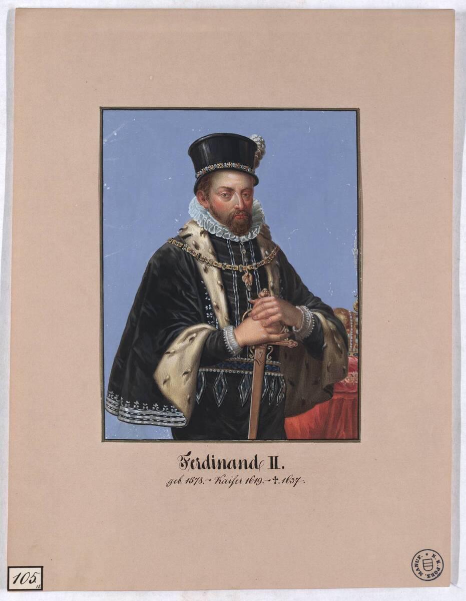 Ferdinand II. (Originaltitel) von Herr, Laurenz / Lorenz