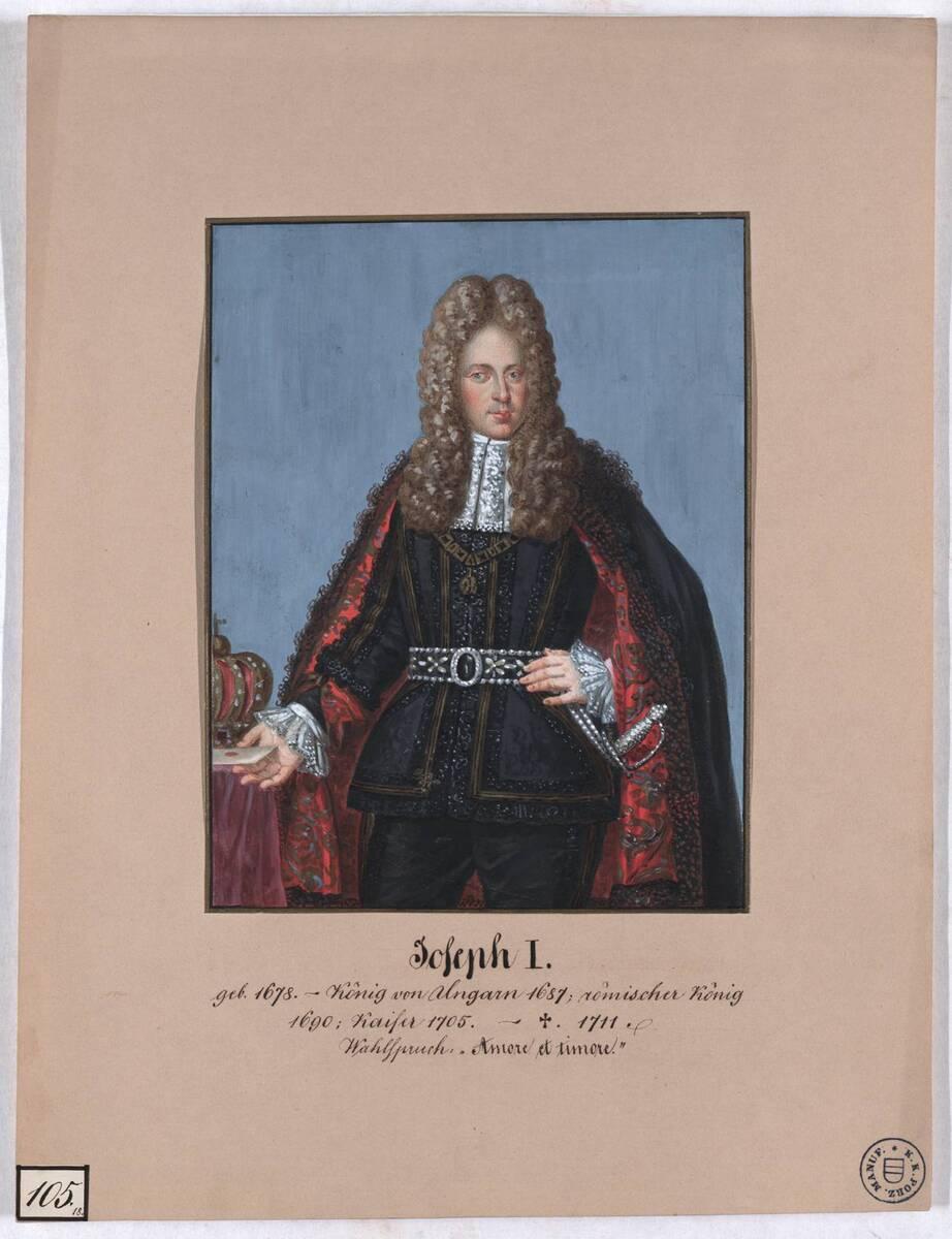 Joseph I. (Originaltitel) von Herr, Laurenz / Lorenz