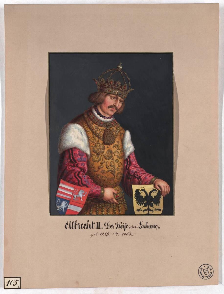 Albrecht II. Der Weise oder Lahme (Originaltitel) von Herr, Laurenz / Lorenz