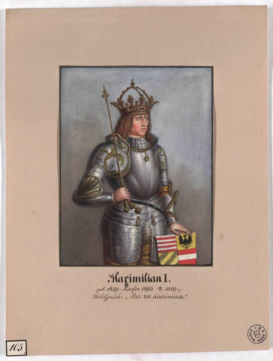 Maximilian I. (Originaltitel) von Herr, Laurenz / Lorenz