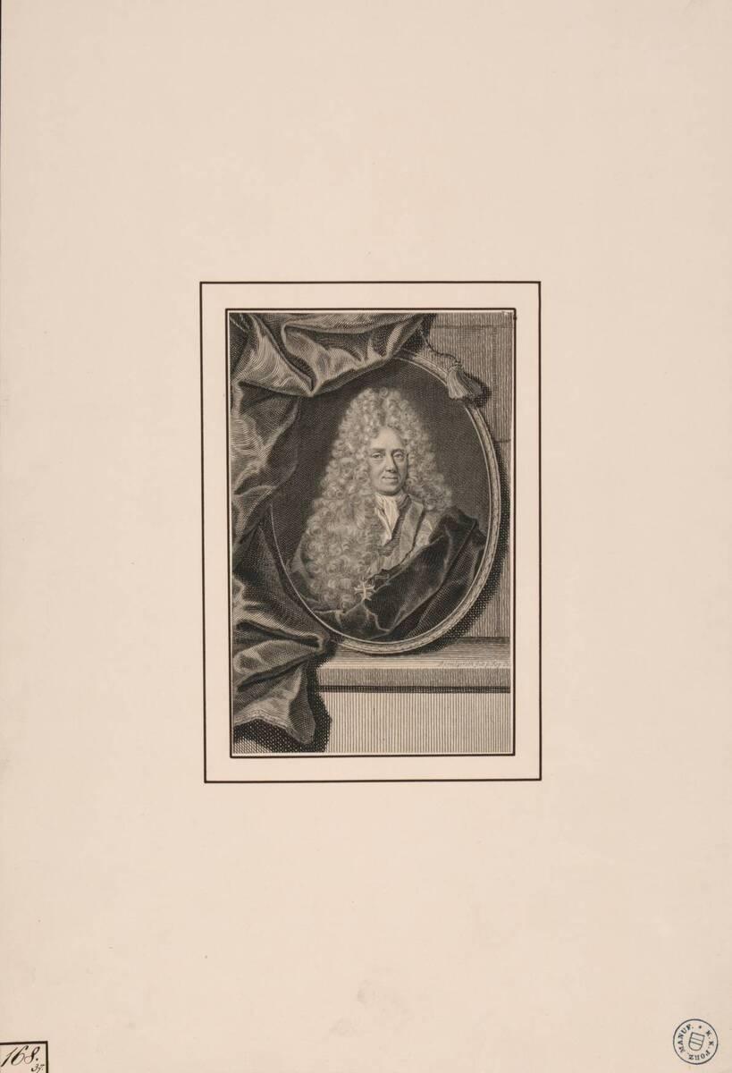 [Bildnis eines unbekannten Mannes] (vom Bearbeiter vergebener Titel) von Bernigeroth, Martin