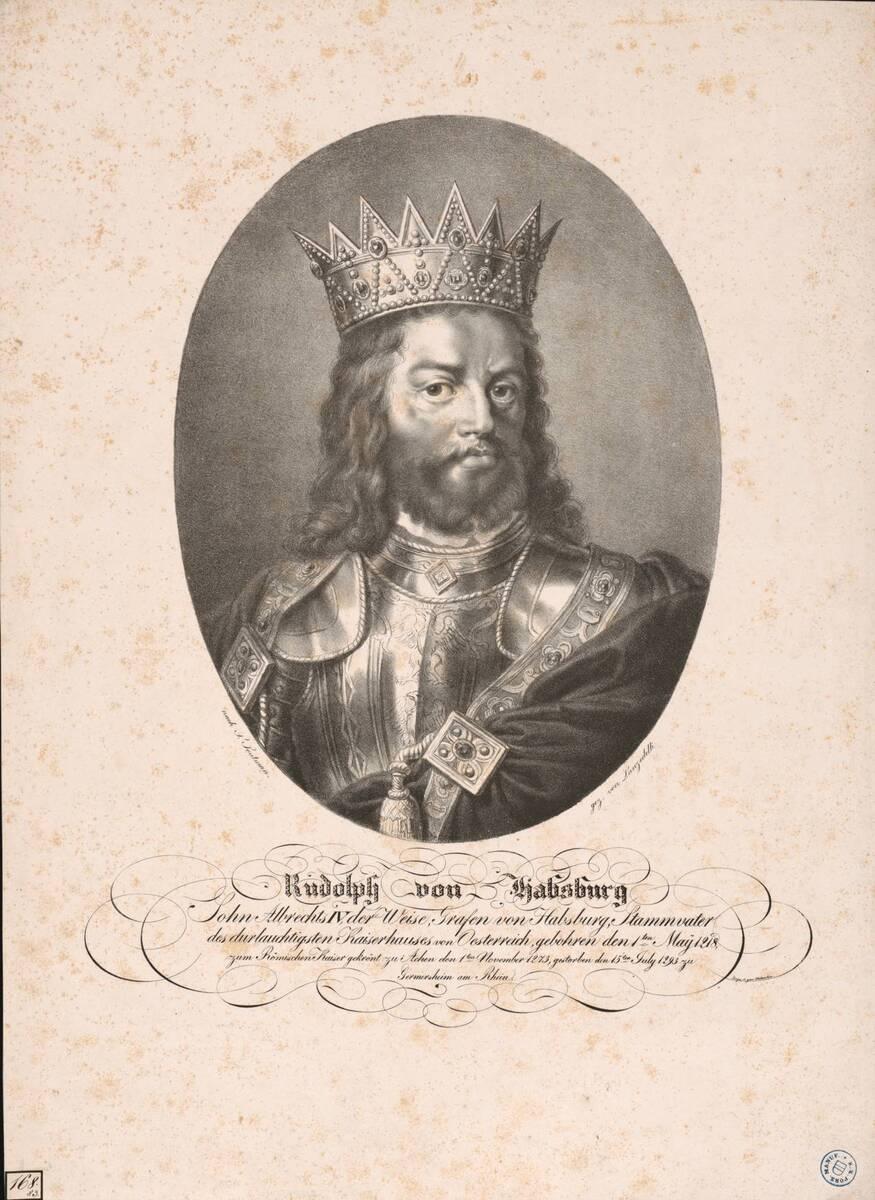 Rudolph von Habsburg (Originaltitel) von Soutman, Pieter Claesz