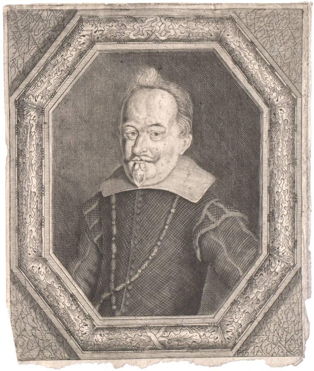 Portrait eines Edelmannes (vom Bearbeiter vergebener Titel) von Anonym