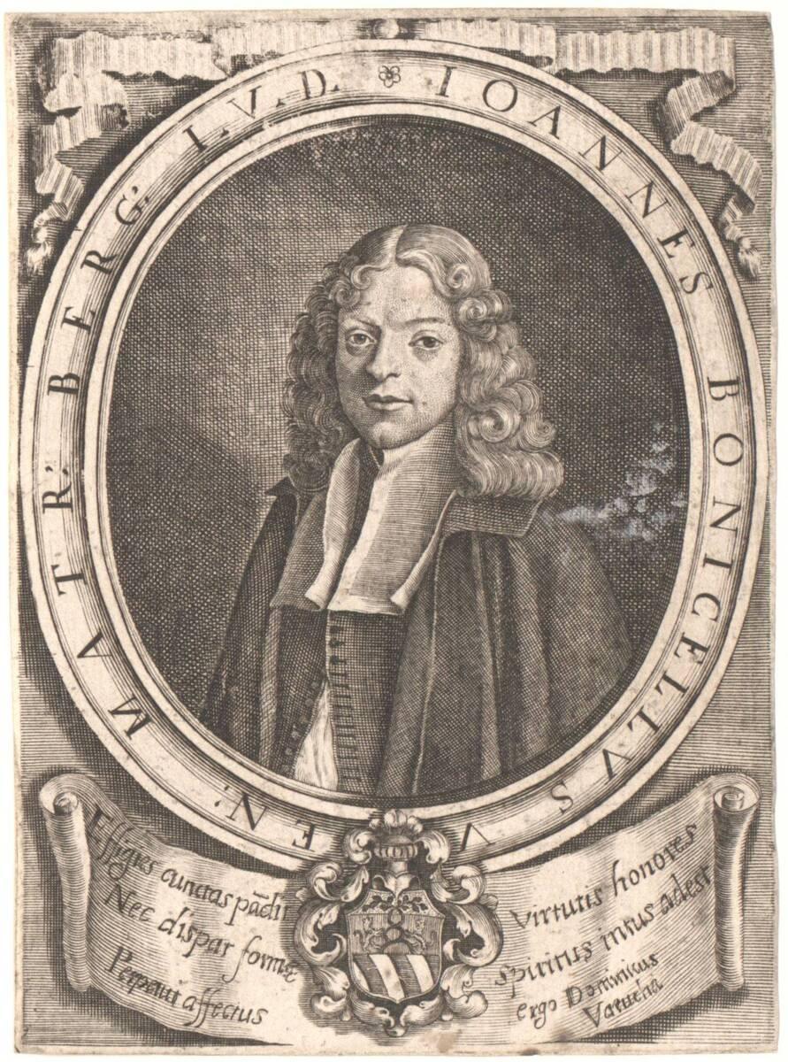 Portrait von Giovanni Bonicelli (vom Bearbeiter vergebener Titel) von Anonym
