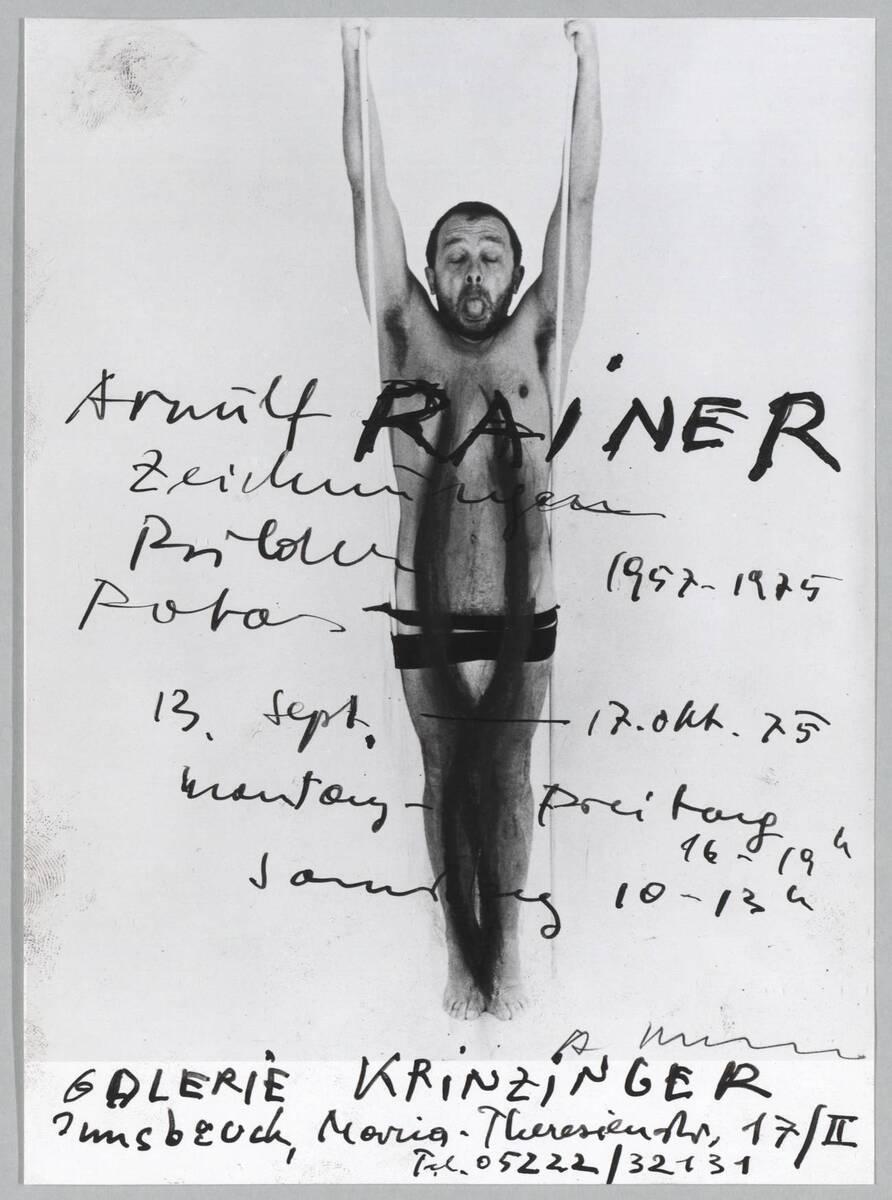 Zeichnungen, Bilder, Fotos 1957 - 1975 von Rainer, Arnulf