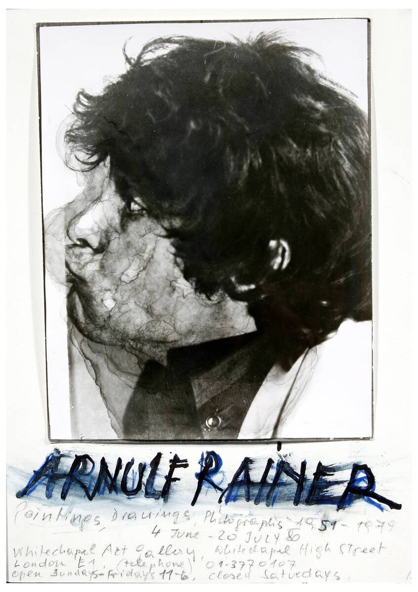 Paintings, Drawings, Photographs 1951 - 1979 von Rainer, Arnulf