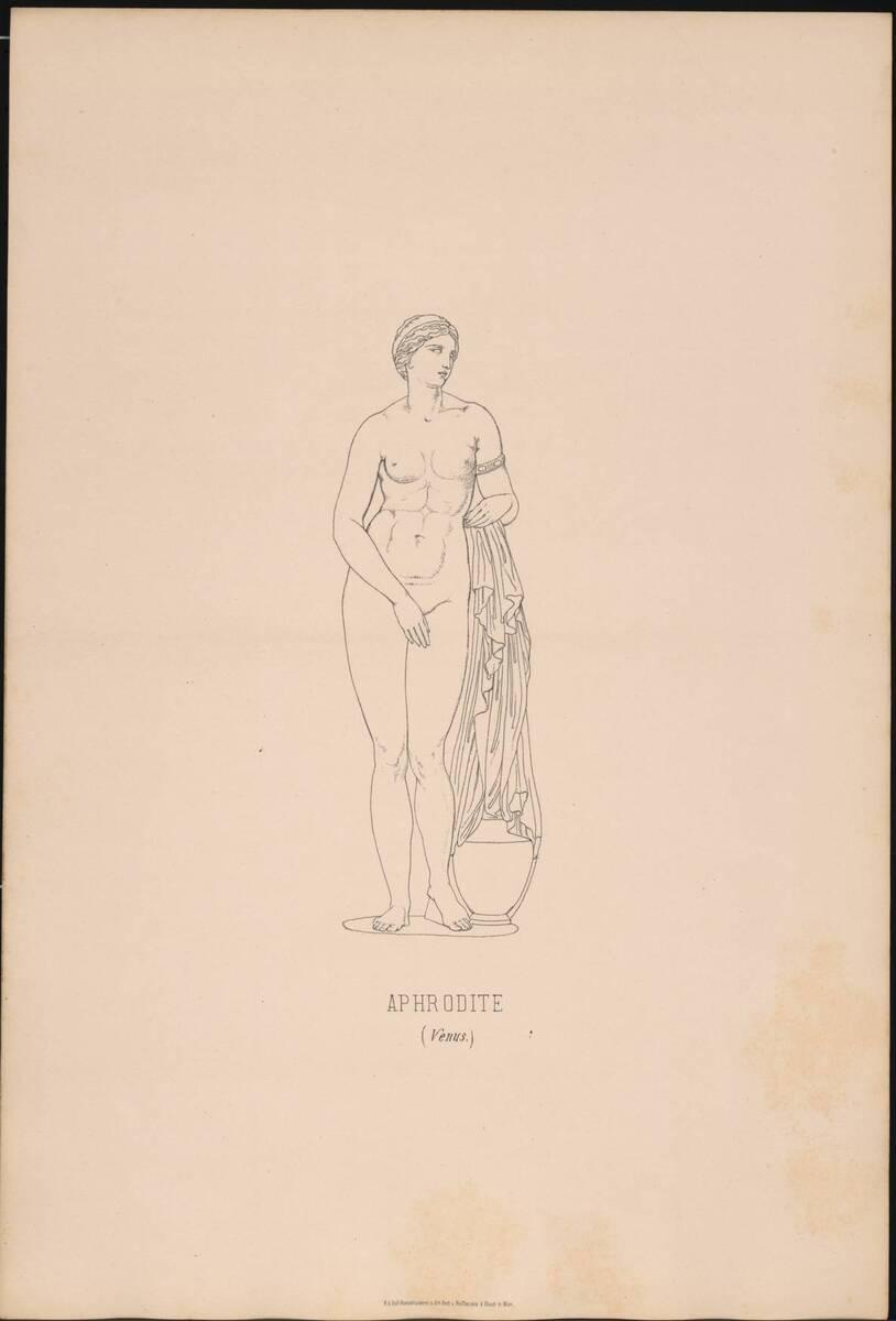 Aphrodite von Knidos (vom Bearbeiter vergebener Titel)