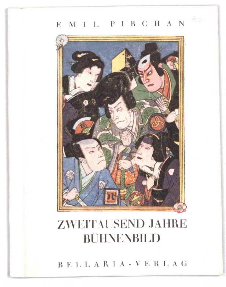 """Buchumschlag für """"Zweitausend Jahre Bühnenbild"""" von Emil Pirchan von Anonym"""