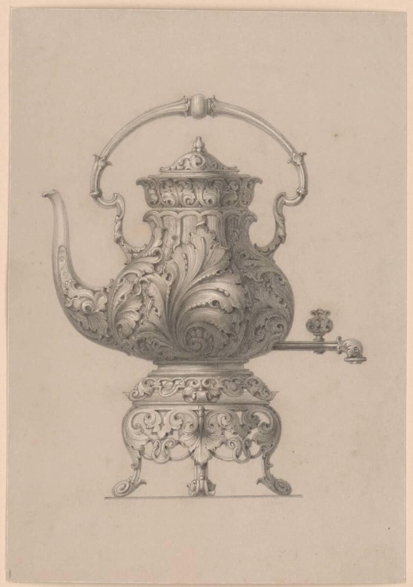 Samowar (vom Bearbeiter vergebener Titel) von Pfannenschwarz, H.
