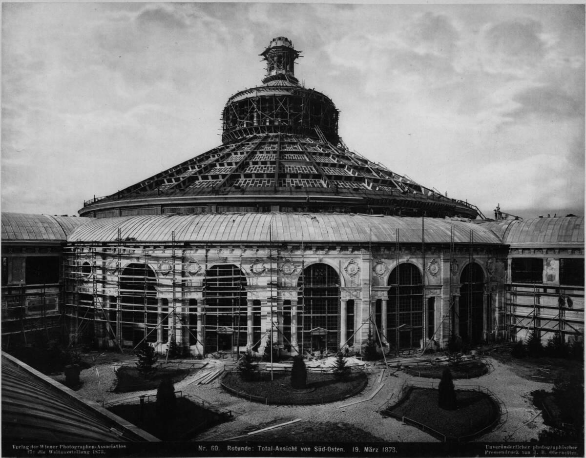 Gesamtansicht der Rotunde von Wiener Photographen-Association
