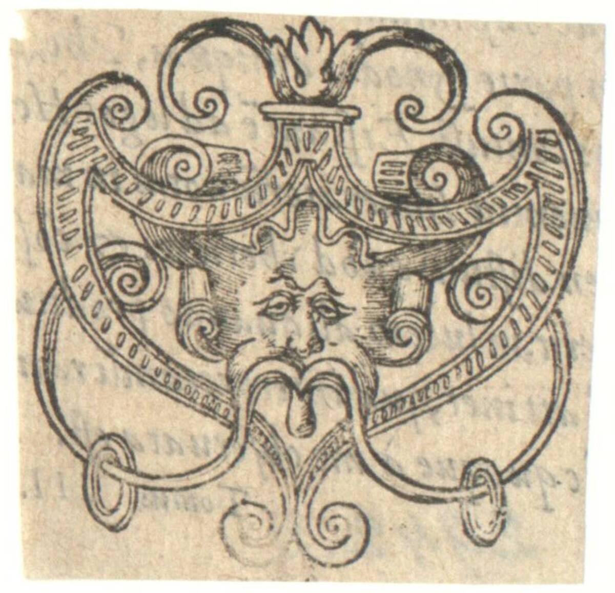 Vignette aus: Horaz, Petrus de la Roviere, Orleans 1605 (vom Bearbeiter vergebener Titel) von Anonym