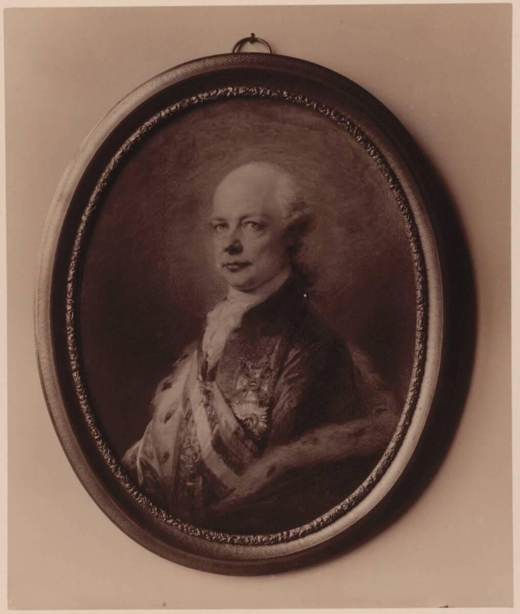 Fotografie einer Porträtmalerei des Kaisers Leopold II., von Friedrich Heinrich Füger (vom Bearbeiter vergebener Titel) von Gmeiner, Wilhelm