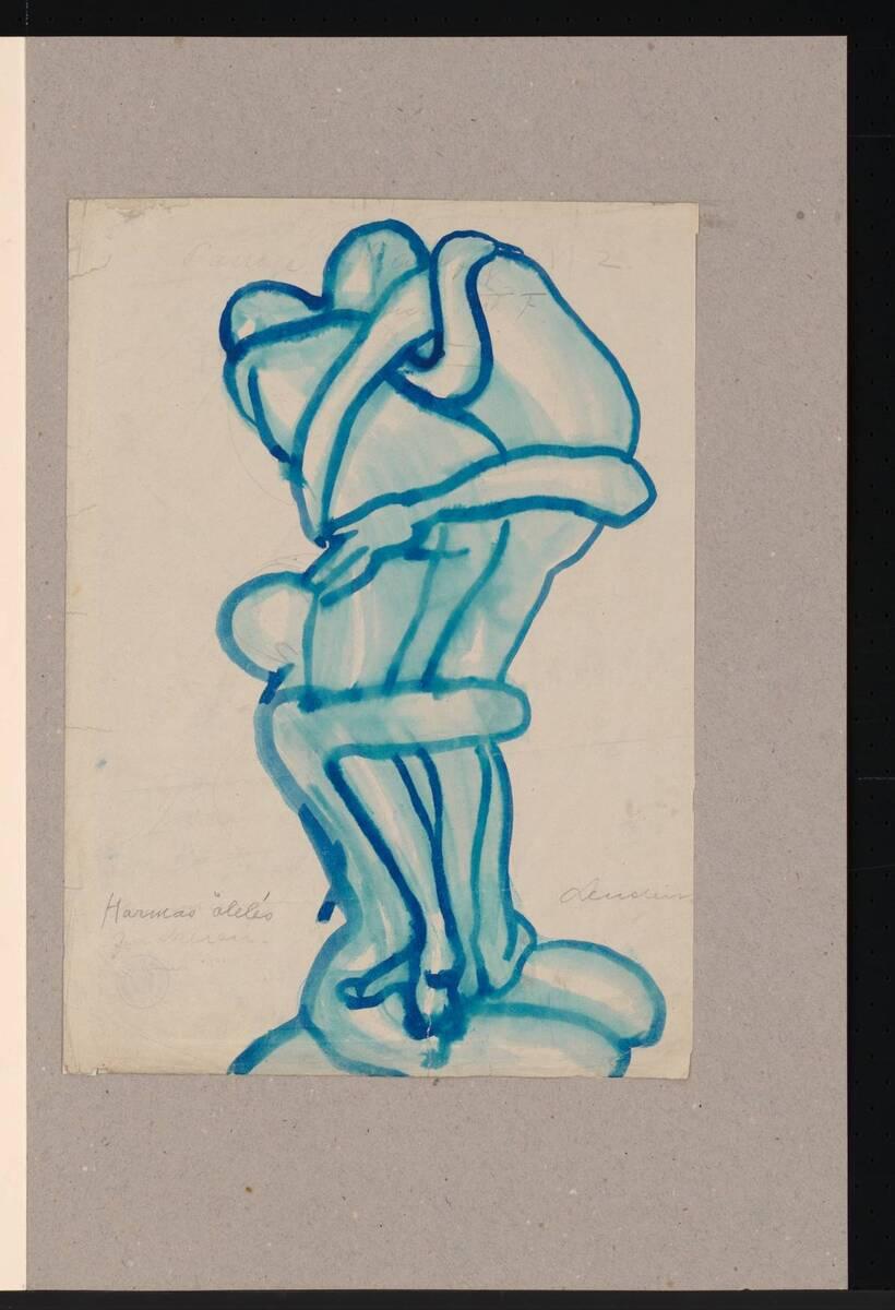 Illustrationsstudie von Lendecke, Otto