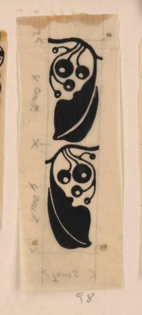 Entwurf einer Vignette (deskriptiver Titel) von Moser, Koloman