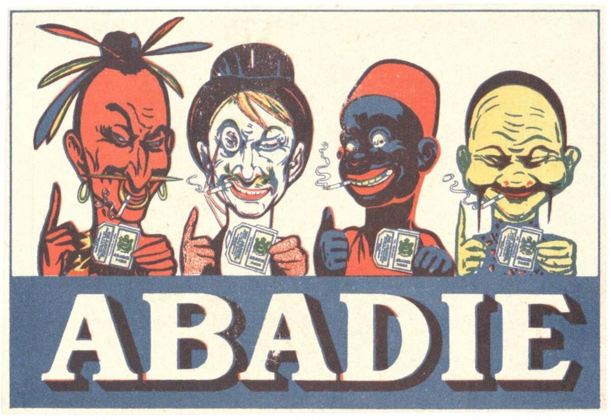 Werbeanzeige für Abadie von Ogé, Eugene