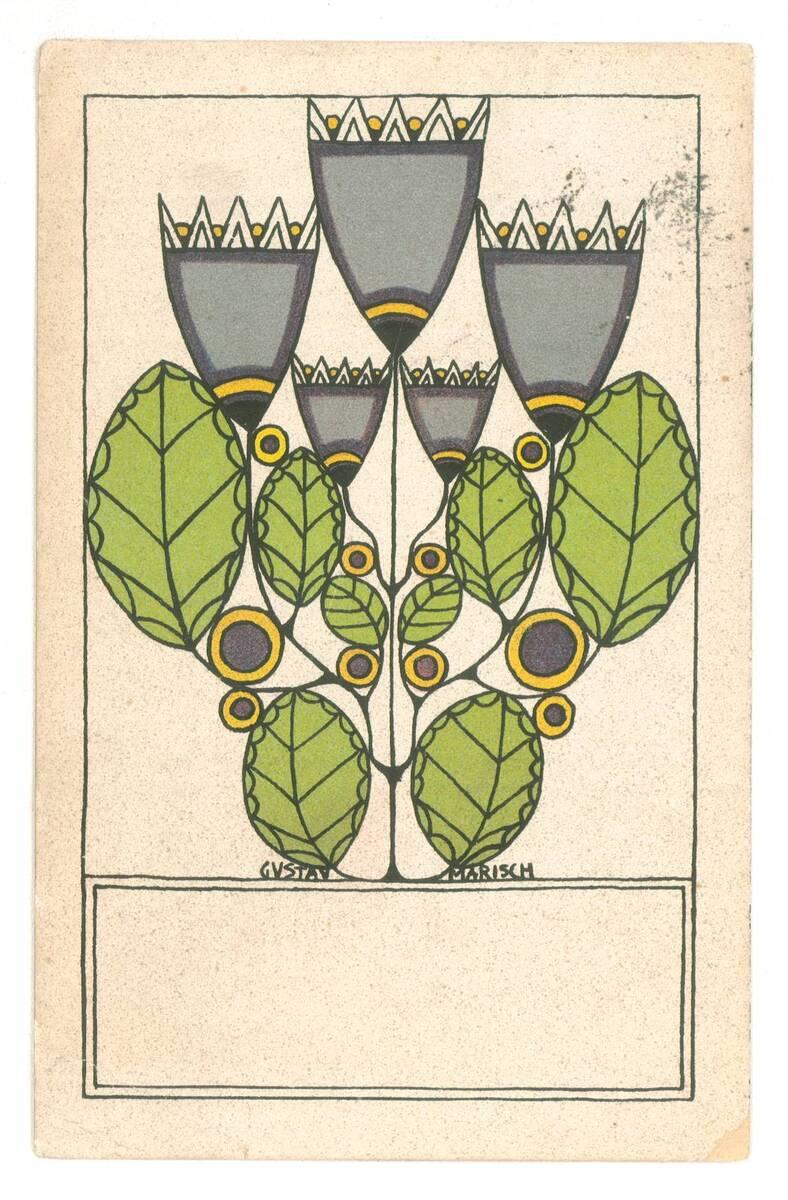 Postkarte Nr. 783 von Wiener Werkstätte
