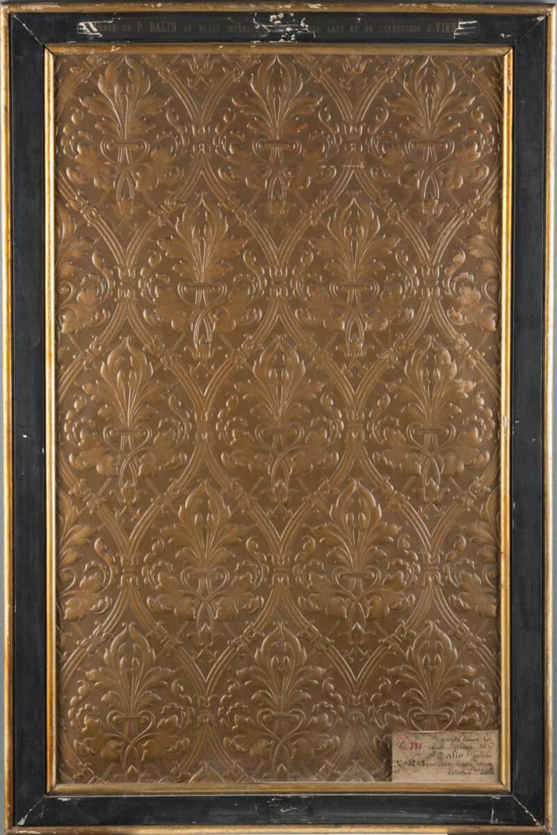 Stilkopie einer Ledertapete der Renaissance von Balin, Paul