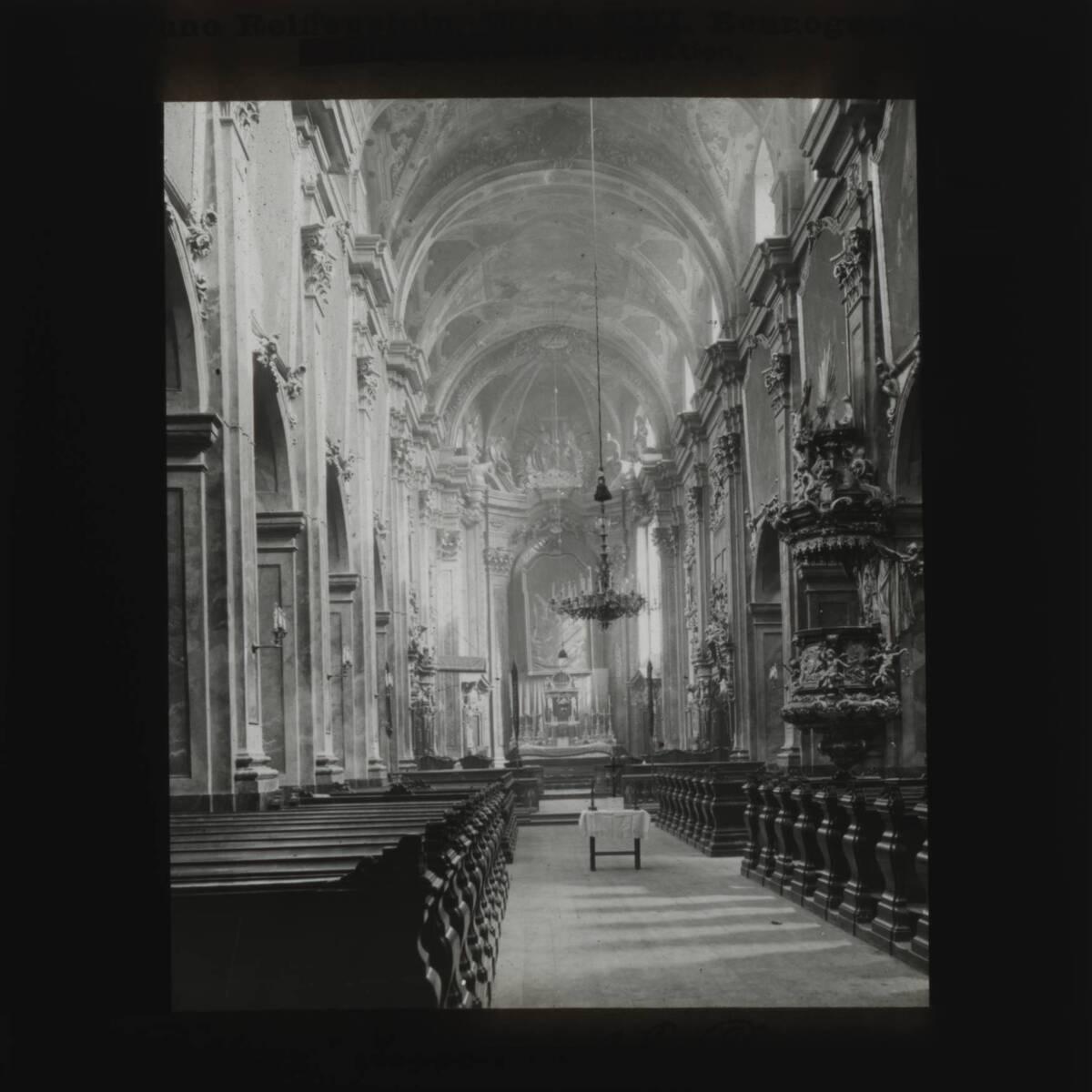 Dom zu St. Pölten (vom Bearbeiter vergebener Titel) von Reiffenstein, Bruno