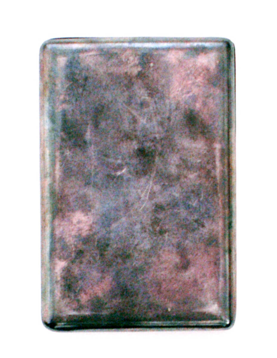 Portemonnaie - silber (deskriptiver Titel) von Lang, Helmut
