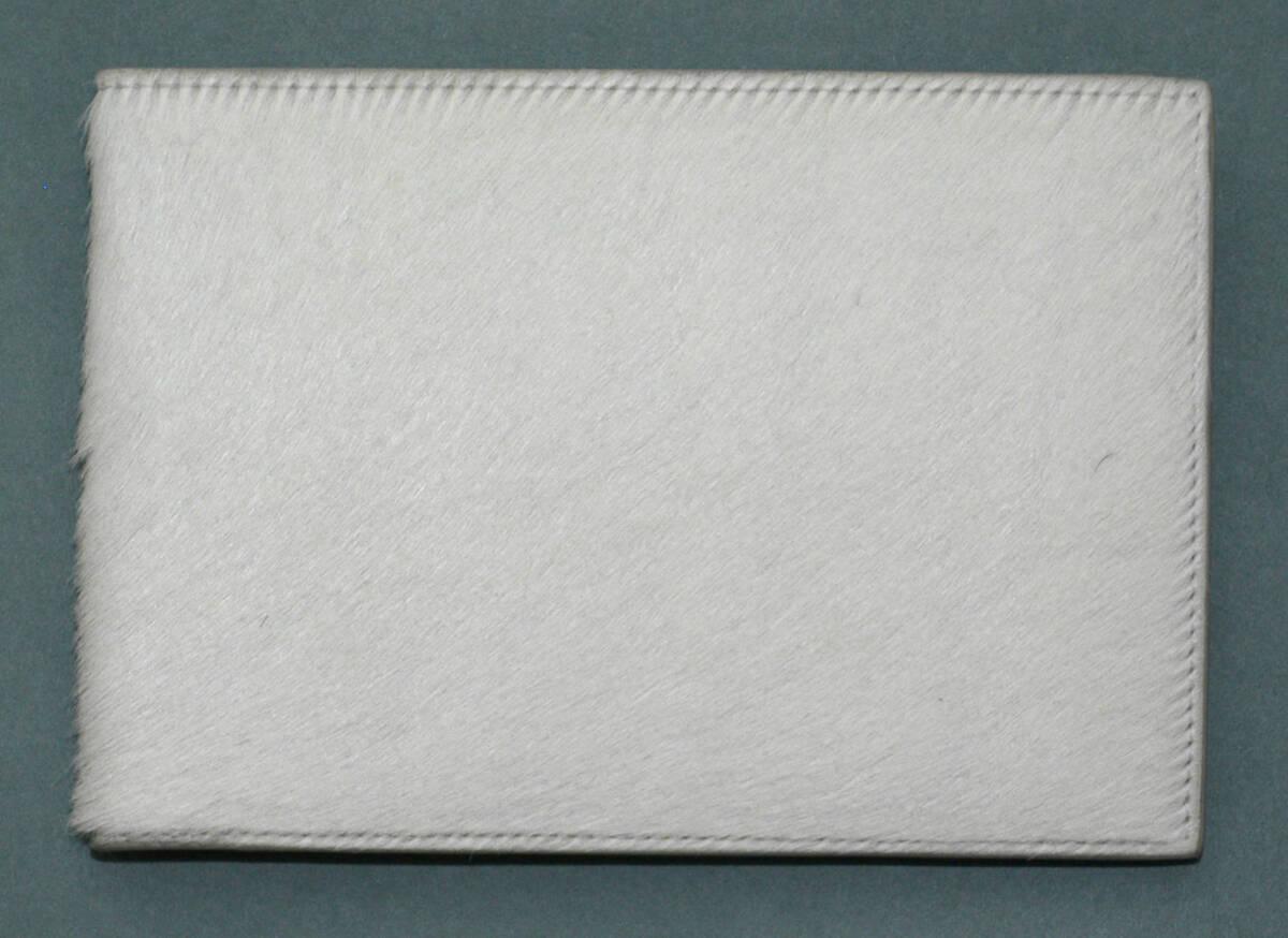 Portemonnaie - weiß (deskriptiver Titel) von Lang, Helmut