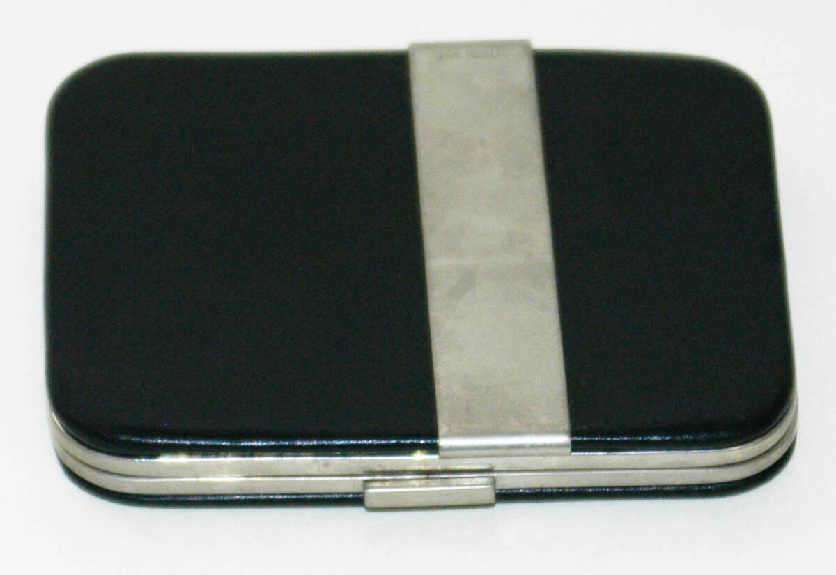 Portemonnaie - schwarz/silber von Anonym